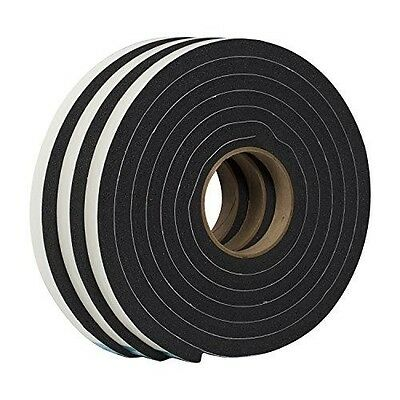 Duck Brand 284424 Self Adhesive Foam Weatherstrip Seal for Extra Large Gaps, 3/4