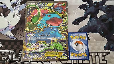 Carte pok mon tortank ex full art xy122 jumbo g ante - Carte pokemon geante ...
