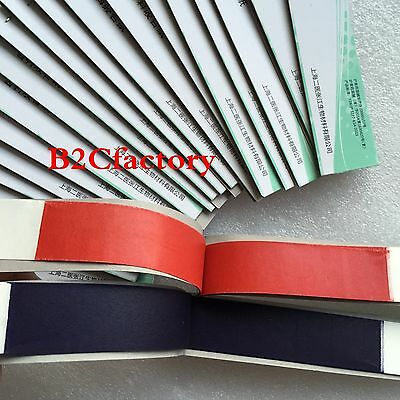 2BOXES Dental Articulating Paper Blue&Red Strips Double size 20 books/box