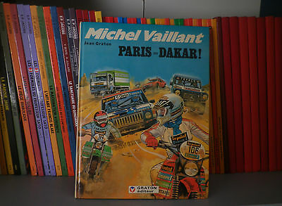 MICHEL VAILLANT, N°41 : Paris-Daker - Ed Originale - BD Aventure/Automobile