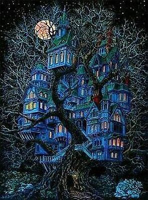 1970s Dream House black light poster replica magnet - new!