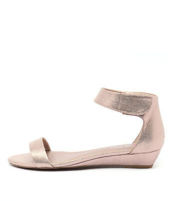 New I Love Billy Marlena Rose Gold Womens Shoes Casual Sandals Sandals Flat