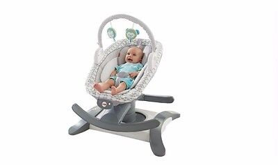 Fisher-Price 4-in-1 Rock 'n Glide Soother Baby Swing Seat Comfort