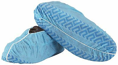 100 Disposable Shoe Covers Non-Skid Medical Blue Extra Large Free Shipping 6926