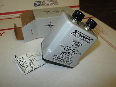 338-120-10 Time Mark Recycle Timer Relay. NEW IN BOX. FREE SHIP