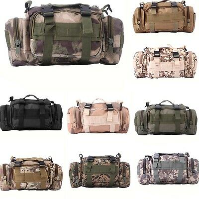 Fishing Tackle Bag Lure Bags Multi-function Hiking Outdoor Sports Shoulder Pack