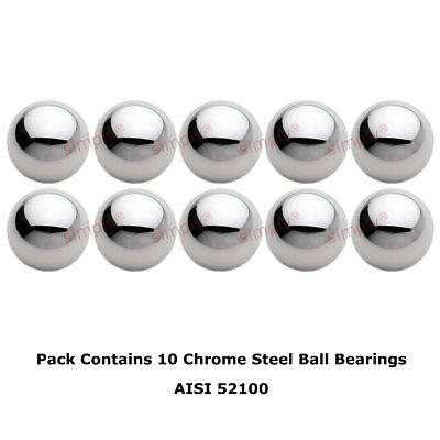 3/32 inch Diameter Grade 100 Hardened 52100 Chrome Steel Ball Bearings