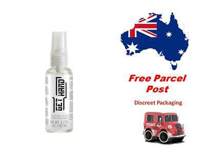 PHARMQUESTS Get Hard Erection Performance Spray - 50 ml Bottle...Free Post