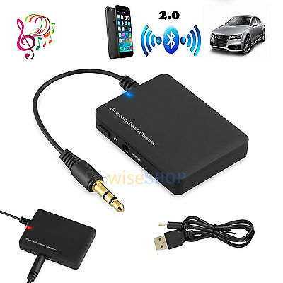 3.5mm Universal Bluetooth Wireless Transmitter Audio Adapter A2DP For iPod TV PC