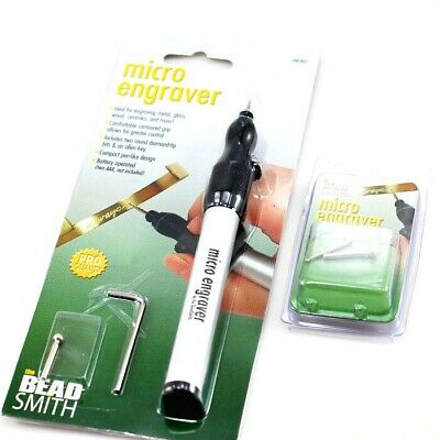 *beadsmith Cordless Micro Engraver Tool ** Or ** Replacement Tip 2 Pk