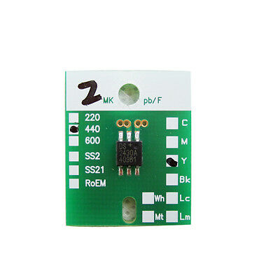 4pcs ( C M Y K ) Roland DX7 Reset Permanently Chip for XF VS RA RE RH BN RT