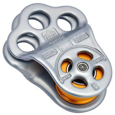 DMM TRIPLE (RAPIDE) ATTACHMENT PULLEY / HITCH CLIMBING 30kN PUL100RAPIDE