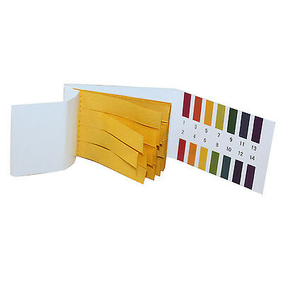 2 x PH Test Paper 80 PH 1-14 Universal Full Range Strips Tester Indicator Urine