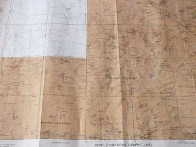 FUNTUA, NIGERIA  Military Joint Operations Graphic (AIR) Map c5.649