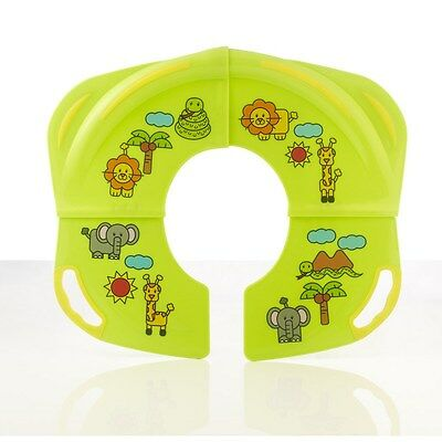 Baby Child Travel Foldable Portable Toilet Seat Potty Training Seat New