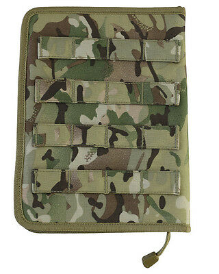 KOMBAT BTP/MTP STYLE CAMOUFLAGE MOLLE A5 Folder / NOTEBOOK/ Nirex Cover Army