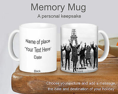 Personalised Your Own Mug - Make Your Own Sovereign Of Your Holiday