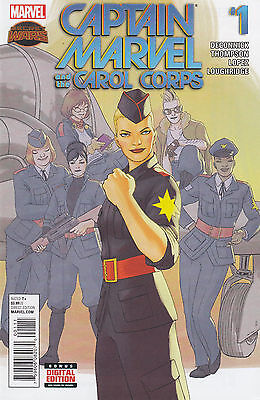 Marvel Comics Captain Marvel and the Carol Corps #1-4, complete, Near Mint!