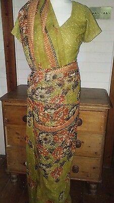 indian sari size 10 top by cuckoo