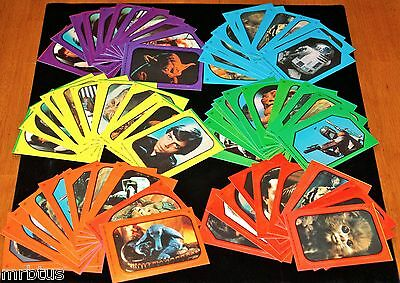 1983 STAR WARS COMPLETE SET 66 STiCKERS Return of the Jedi Topps Trading Cards