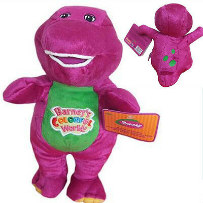 New High quality The Dinosaur Barney Sing song Purple Plush Soft Toy Doll 30cm