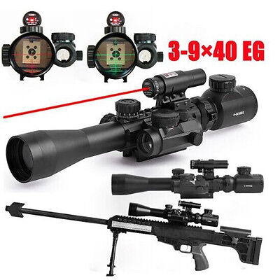 Tactical Riflescopes 3-9x40EG dual illuminated red dot scope infrared Rifle Scop