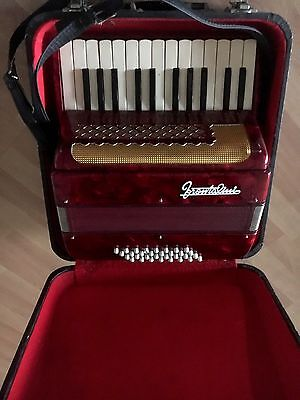 Frontalini  Accordion   25 Key, 12 Bass - Excellent condition with original case