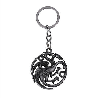 Creative Game of Thrones Figure Character Accessories Keyring Key Chain