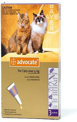 Advocate For Cats / Kittens over 4kg (3pk) - Aussie Seller EXPRESS SHIPPING