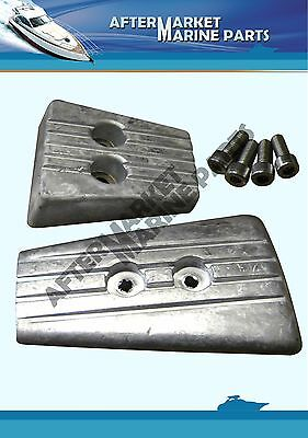 Volvo Penta SX-A DPS-A anode kit replaces 3888818 3888815 magnesium