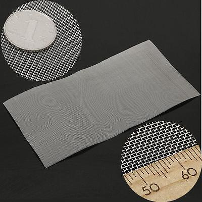 304 Stainless Steel 30 Mesh Cloth Screen Filtration Filter Woven Wire 30x30cm