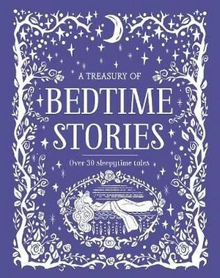 A Treasury of Bedtime Stories by Hardcover Book
