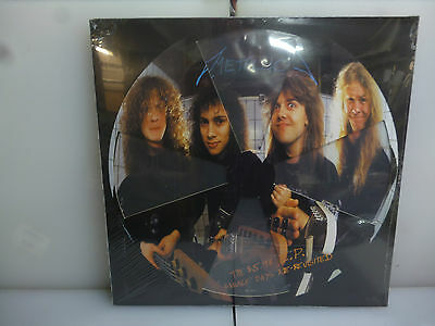 Metallica-Garage Days Re-Revisited-Cross Die-Cut Co. Picture Vinyl Lp-New.sealed