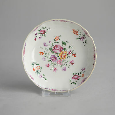 Antique 18th Qianlong period Porcelain Saucer Dishl Plate Chinese Qing China