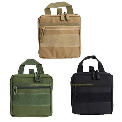 1000D Molle Tactical Military EDC Utility Tool Bag Medical First Aid Pouch Case