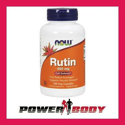 NOW Foods - Rutin, 450mg - 100 vcaps