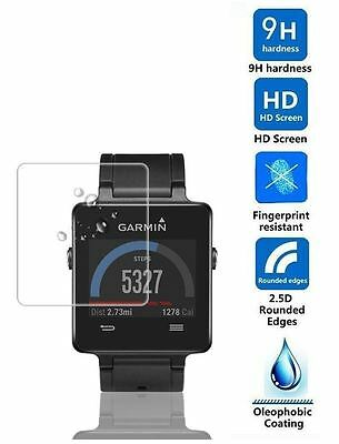 Hellfire Trading Tempered Glass Screen Protector Cover for Garmin Vivoactive