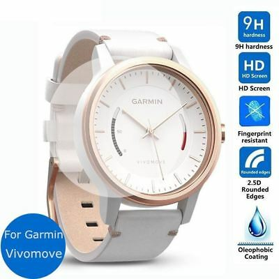 Hellfire Trading Tempered Glass Screen Protector Cover for Garmin VivoMove