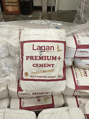 Lagan Cement 25kg- £3.25 Per Bag