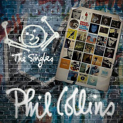Phil Collins The Singles 2 Cd Set 2016 (Greatest Hits / Very Best Of)