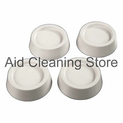 4 x Anti-vibration Floor Protector Feet Absorbers TESCO Washing Machine