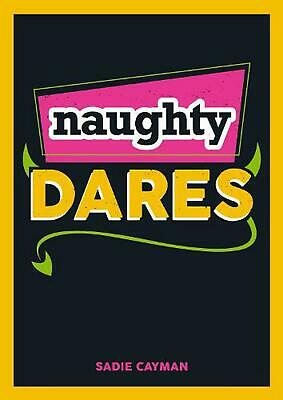 Naughty Dares by Sadie Cayman Paperback Book Free Shipping!