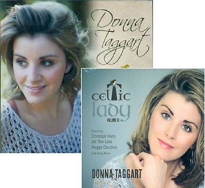 Donna Taggart Celtic Lady Volumes 1 & 2  Double Cd Set Inc Jealous Of The Angels