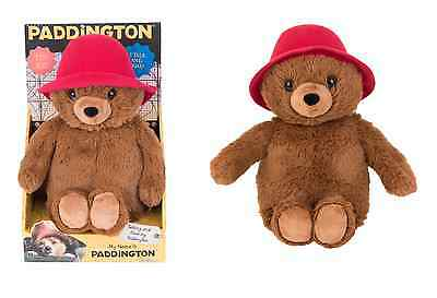 Paddington bear My Name Is 21cm Talking Movie Bear Soft Toy by Rainbow Designs