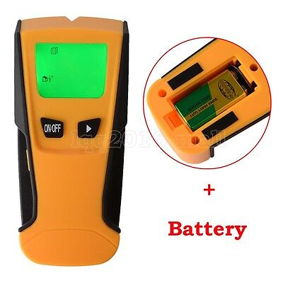 3 IN 1 LCD Scanner Wood Stud Metal Wire Voltage Copper Pipe Finder Wall Detector