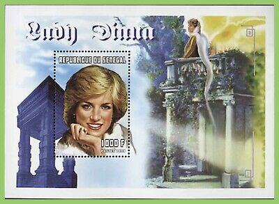 Senegal 1998 Princess Diana miniature sheet MNH
