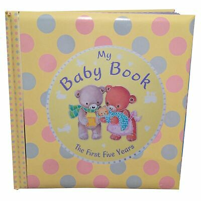 """My First Five Years"" Baby Record Book; Baby Keepsake Diary"