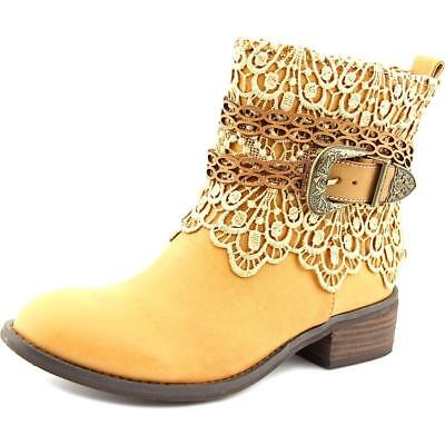 Very Volatile Korba Women  Round Toe Synthetic  Ankle Boot