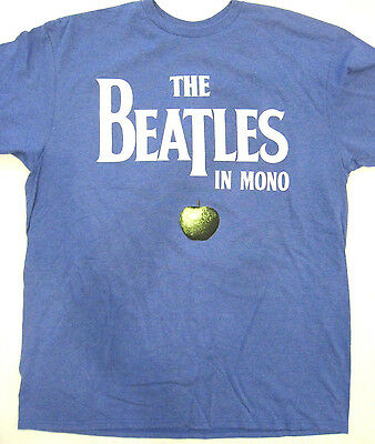 """The Beatles """"In Mono"""" promotion T-Shirt (size Large) New"""