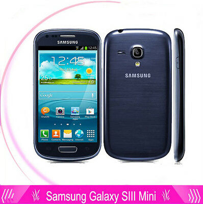 Samsung Galaxy S3 Mini GT-i8190 - 8GB - Black&Blue&Withe (Unlocked) Smartphone